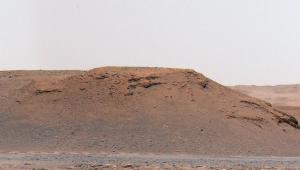 Imagem da cratera jazero em marte