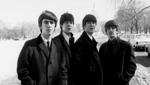 Os Beatles em Washington, capital dos Estados Unidos, em 1964