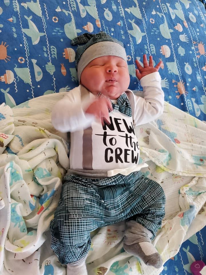 bebê nasce com 6,3 kg nos EUA