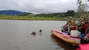 Buscas por homem e mulher desaparecidos em rio de Santa Catarina