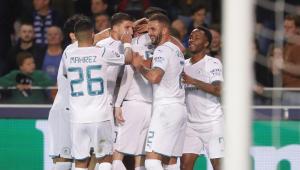 O Manchester City venceu o Club Brugge por 5 a 1