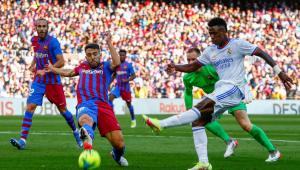 Vinicius Júnior se destacou na vitória do Real Madrid sobre o Barcelona, pelo Campeonato Espanhol