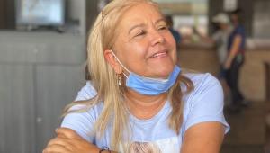 Martha Sepúlveda sorrindo