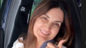 Fátima Bernardes sorrindo