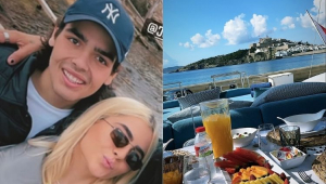 Filho de Faustão aparece em Ibiza com Jade Picon e fãs reagem: 'Ela ama um João Guilherme'