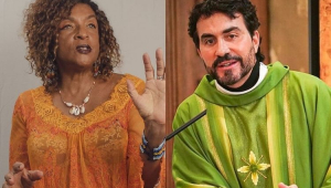 Elisa Lucinda diz que não acredita em celibato do padre Fábio de Melo: 'Muito sedutor'