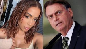Anitta rebate falas de Bolsonaro: 'Sabendo mais da minha vida do que da crise'