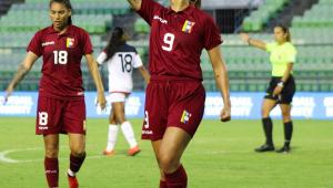 Deyna Castellanos, capitã da seleção da venezuela