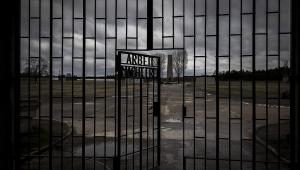 entrada do campo de concentracao Sachsenhausen