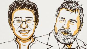 Jornalistas conquistam o Nobel da Paz por defesa à liberdade de expressão em 2021