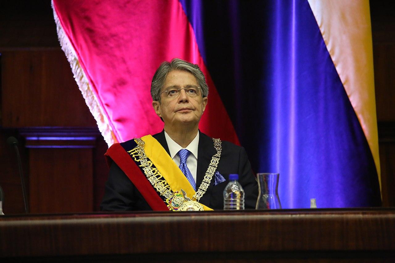 guillermo lasso, presidente do equador