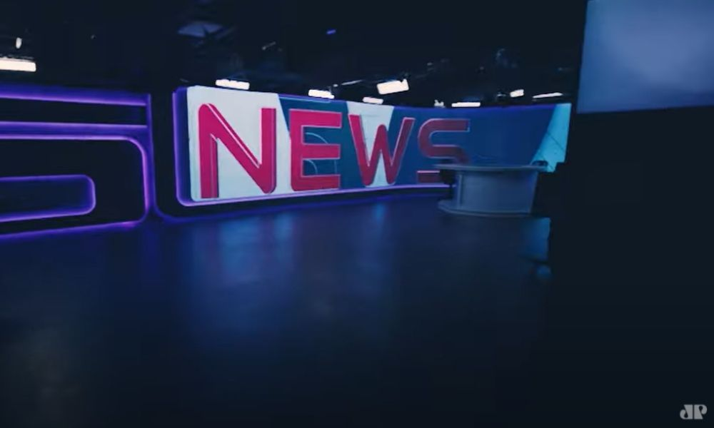 Estúdio da TV Jovem Pan News