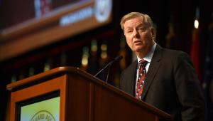 Senador Lindsey Graham discursando