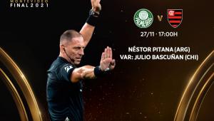 Néstor Pitana será o árbitro de Palmeiras x Flamengo, na final da Libertadores