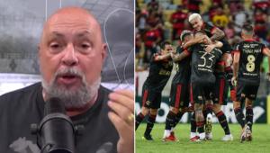 Nilson Cesar exaltou o Flamengo após a vitória sobre o Juventude