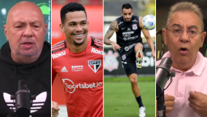 Nilson Cesar e Flavio Prado arriscaram palpites para São Paulo x Corinthians