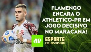 O Flamengo CORRE RISCO de ser ELIMINADO HOJE pelo Athletico-PR? | ESPORTE EM DISCUSSÃO - 27/10/21