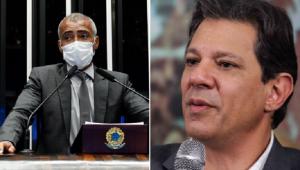 Romário rebateu Haddad e voltou a falar sobre a preferência por Bolsonaro a Lula