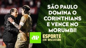 São Paulo BATE o Corinthians e GANHA A 1ª com Rogério Ceni! | ESPORTE EM DISCUSSÃO - 19/10/21