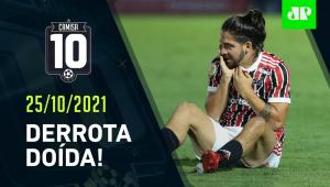 São Paulo CAI para o Bragantino e PERDE FORÇA na BRIGA por vaga na Libertadores!   CAMISA 10