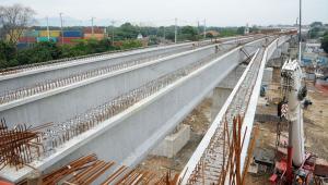 obras da ligação entre a ponte rio-niterói e a linha vermelha