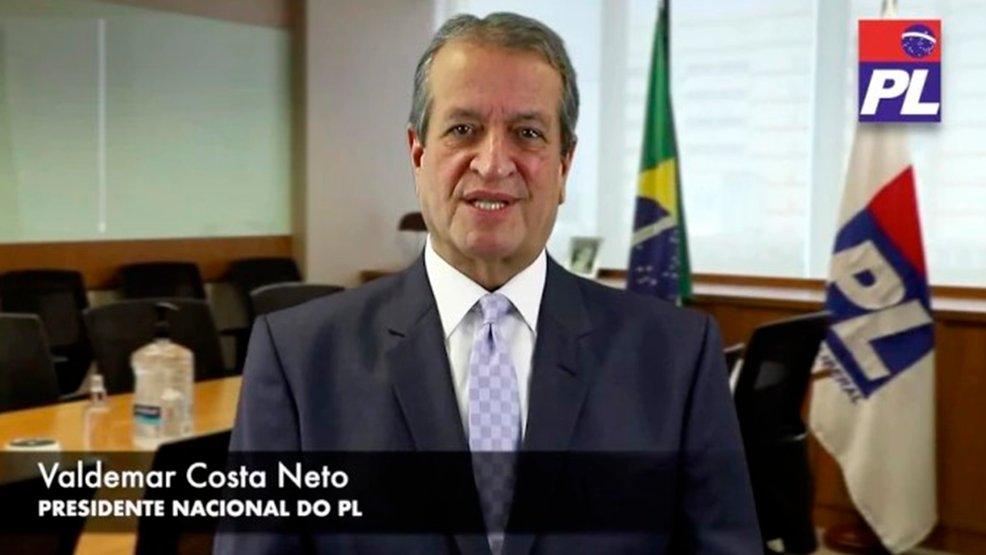 Gravação de vídeo com convite a Bolsonaro