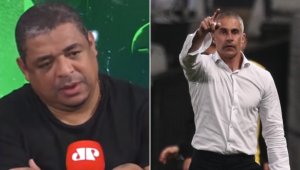 Vampeta defendeu a permanência de Sylvinho no Corinthians