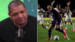 Vampeta analisou a derrota do Corinthians diante do São Paulo