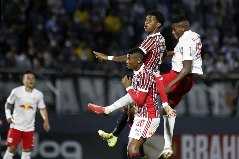 O RB Bragantino venceu o São Paulo por 1 a 0 no Nabi Abi Chedid