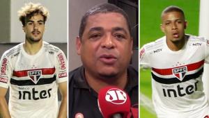 O São Paulo conseguirá manter a liderança até o fim? Veja o que Vampeta respondeu