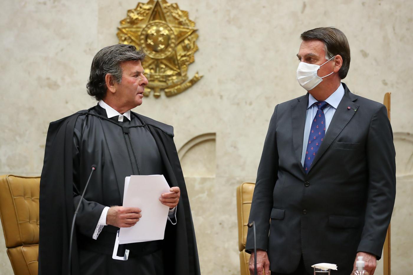 posse Luiz Fux, STF